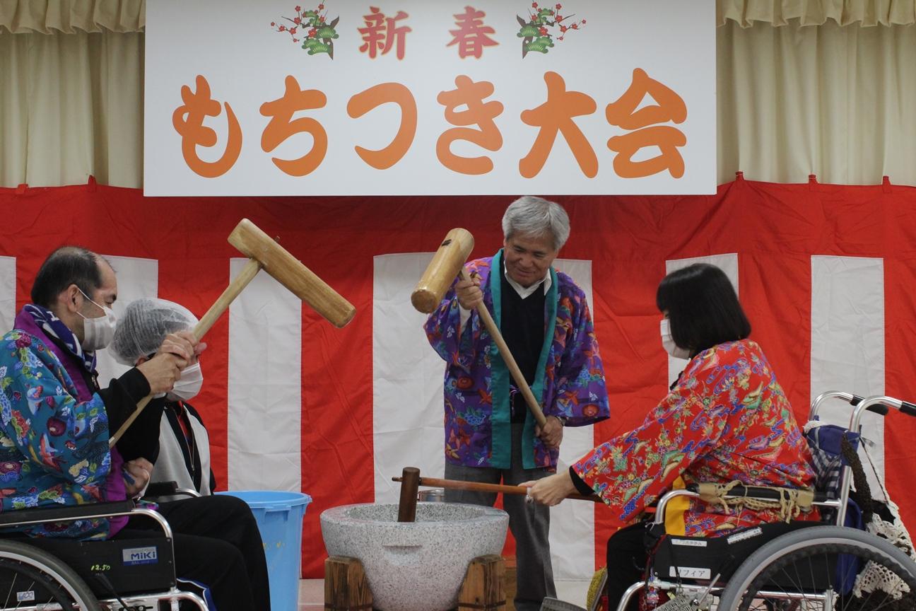 平成30年新春餅つき大会のサムネイル画像