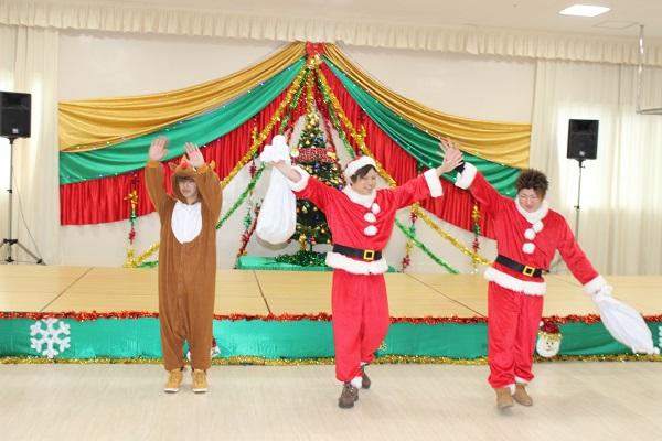 クリスマスパーティー開催のサムネイル画像
